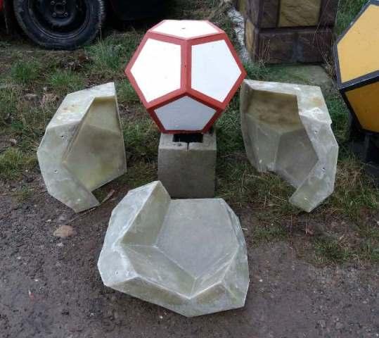 стеклопластик размеры: №1- H-33,0 D-42,0 №2- H-42,0 D-53,0… View More